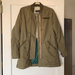 A&F Green Jacket